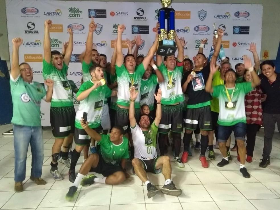 ... Paulo de Frontin é a grande campeã da Copa Rio Sul de Futsal 2018 — Foto 83a940d16d3ae