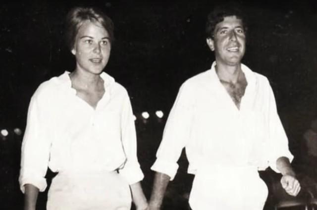 Leonard Cohen e Marianne Ihlen (Foto: Reprodução)