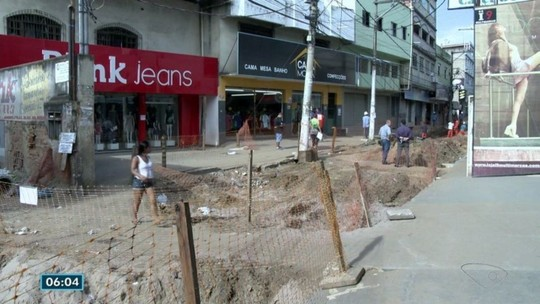 Donos de pontos comerciais na rua José Sette renegociam aluguéis