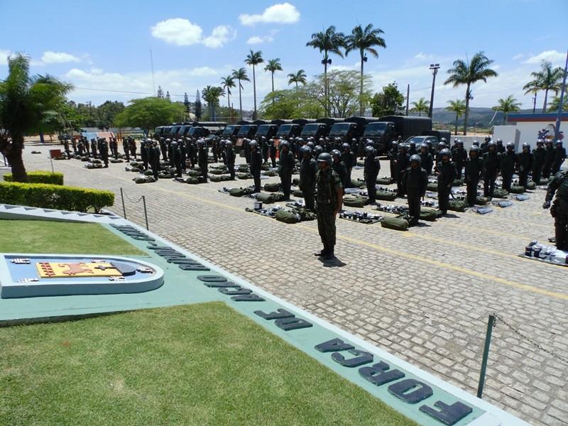 Homens do 71º Batalhão de Infantaria Motorizado (BIMTz) Duarte Coelho, situado em Garanhuns, Pernambuco (Foto: Divulgação/ Comunicação do 71º BIMTz)