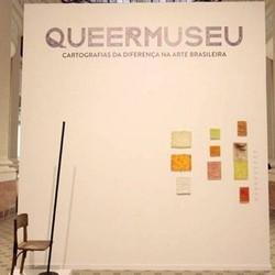 Entrada da 'Queermuseu', uma das exposições que foi tema de discussão recentemente