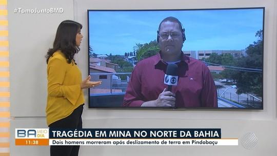 Acidente deixa 2 mortos em mina de esmeralda na Bahia