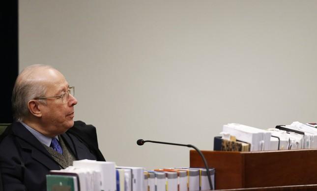 A Segunda Turma do Supremo Tribunal Federal (STF) julga dois pedidos de liberdade do ex-presidente Luiz Inácio Lula da Silva.  Na foto, o ministro Celso de Mello