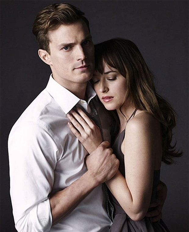 Christian Grey (Jamie Dornan) e Anastasia Steele (Dakota Johnson) (Foto: Divulgação)