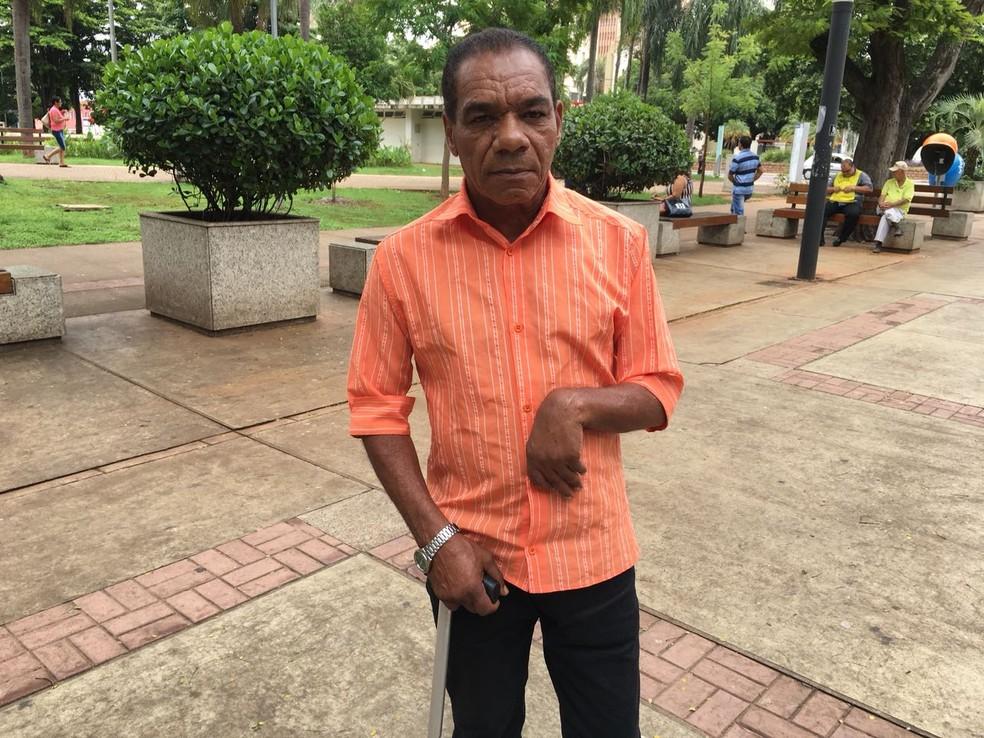 Donizete José da Silva, de 59 anos, aposentado (Foto: Valmir Custódio/G1)