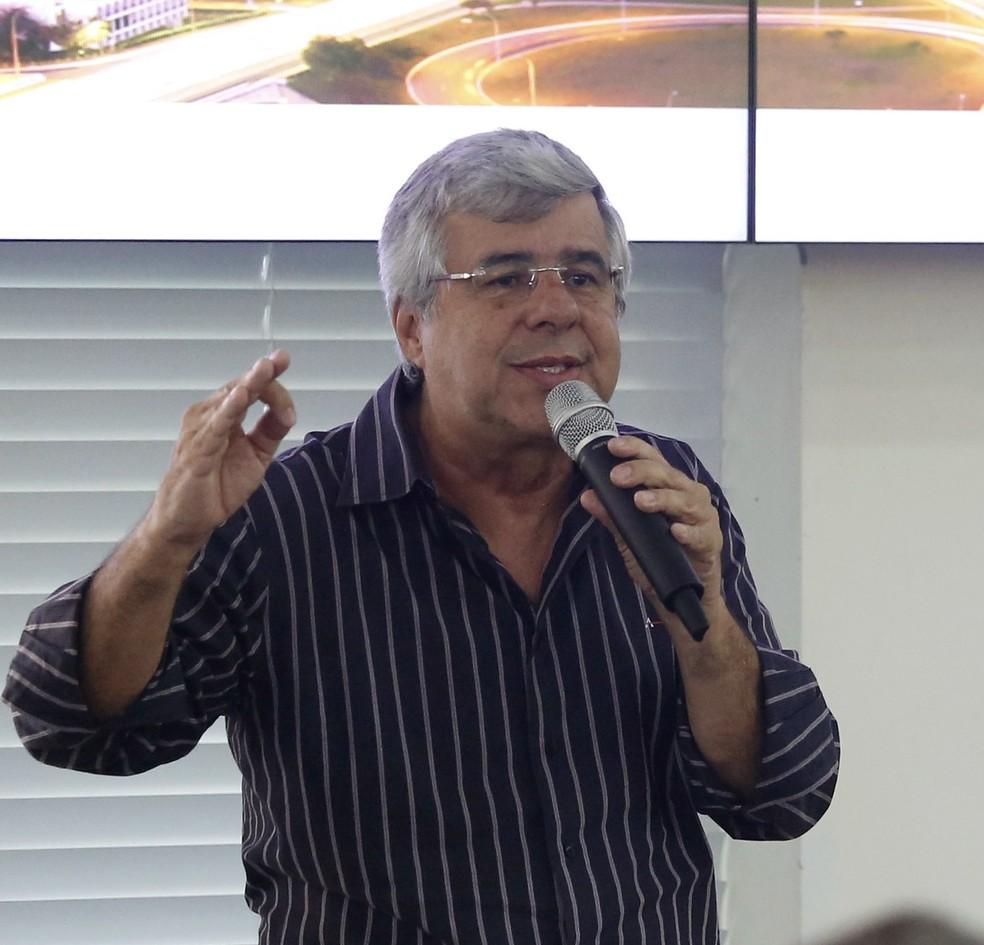 Paulo Fona, jornalista e agora ex-secretário de Imprensa de Bolsonaro — Foto: Dênio Simões/Agência Brasília