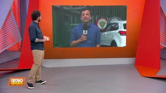 Palmeiras ao vivo: André Hernan fala sobre a busca por executivo e técnico