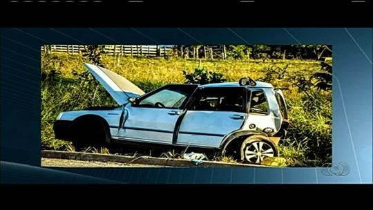 Duas mulheres morrem acidente na GO-341, em Mineiros