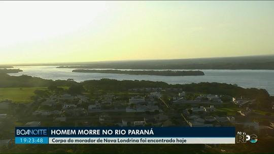 Morador de Nova Londrina morre afogado no rio Paraná