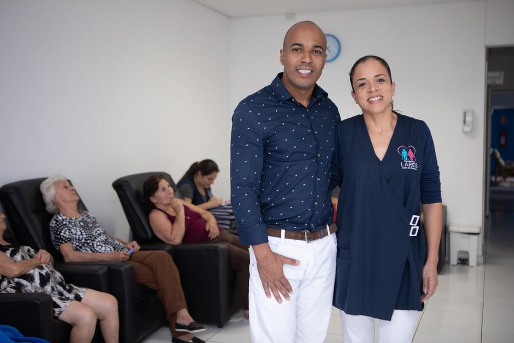 A casa de repouso de Guilherme e Susiene ganhou mais residentes no começo de 2019, mas, por enquanto, ainda não há crescimento nos ganhos — Foto: Celso Tavares/G1
