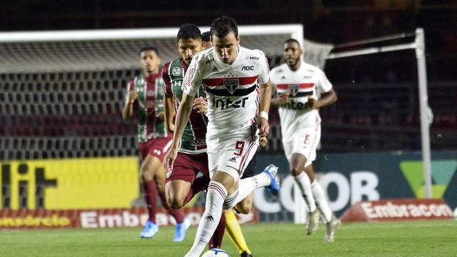 Pablo voltou ao São Paulo, mas pouco fez em campo