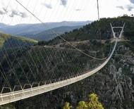 A maior ponte suspensa para pedestres foi inaugurada em Portugal; veja fotos!