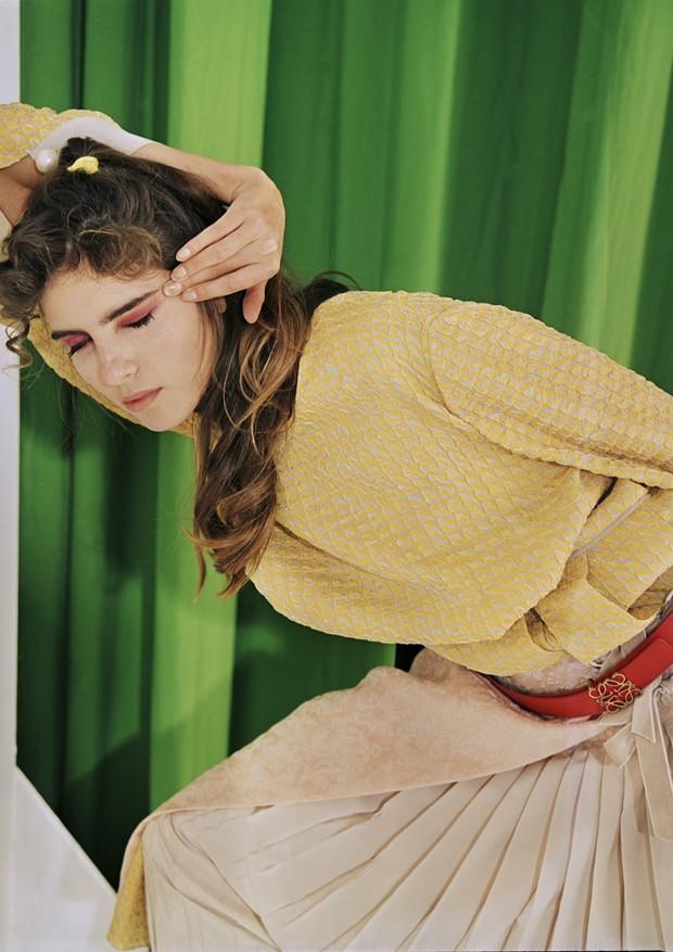"""Banco de Talentos: """"Julia"""" (Foto: Mazen Abusrour, com styling de Keanoush Da Rosa e beleza por Sharon Drugan)"""