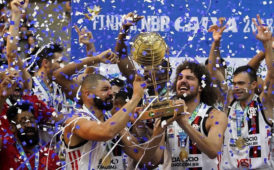 Flamengo é o atual campeão do NBB (Foto: Reprodução Liga Nacional de Basquete)