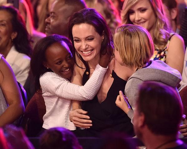 Angelina Jolie e Zahara (Foto: Getty Images)