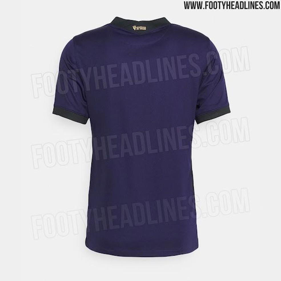 Vaza suposta nova camisa 3 do Corinthians  — Foto: Reprodução