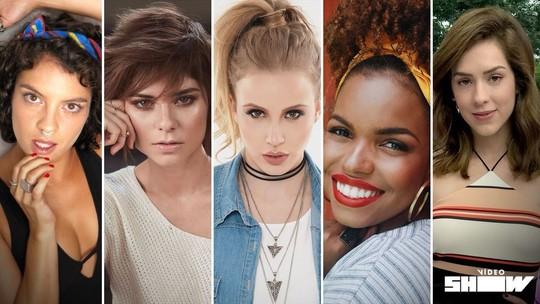 'Desafio Spice Girls': Sophia Abrahão passeia pelos bastidores do clipe em homenagem ao grupo