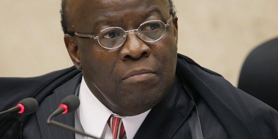 Joaquim Barbosa, ex-ministro do STF (Foto:  Gervásio Baptista / SCO / STF)