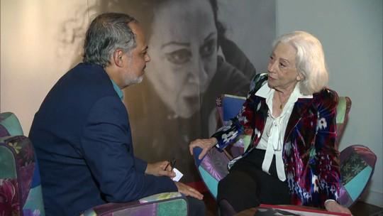 Fernanda Montenegro explica a relação de seu nome com a literatura