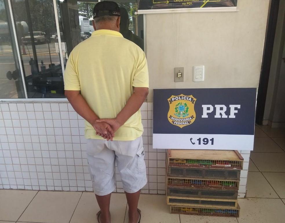 Homem foi multado em R$ 85 mil  — Foto: PRF/Divulgação