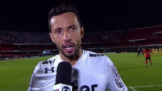 Nenê diz que o São Paulo merecia vencer e agradece o apoio da torcida