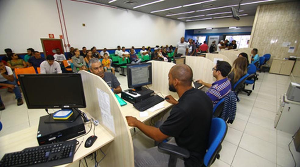 Atendimento no PAT (Posto de Atendimento ao Trabalhador) de São José acontece de segunda a sexta — Foto: Claudio Vieira/PMSJC