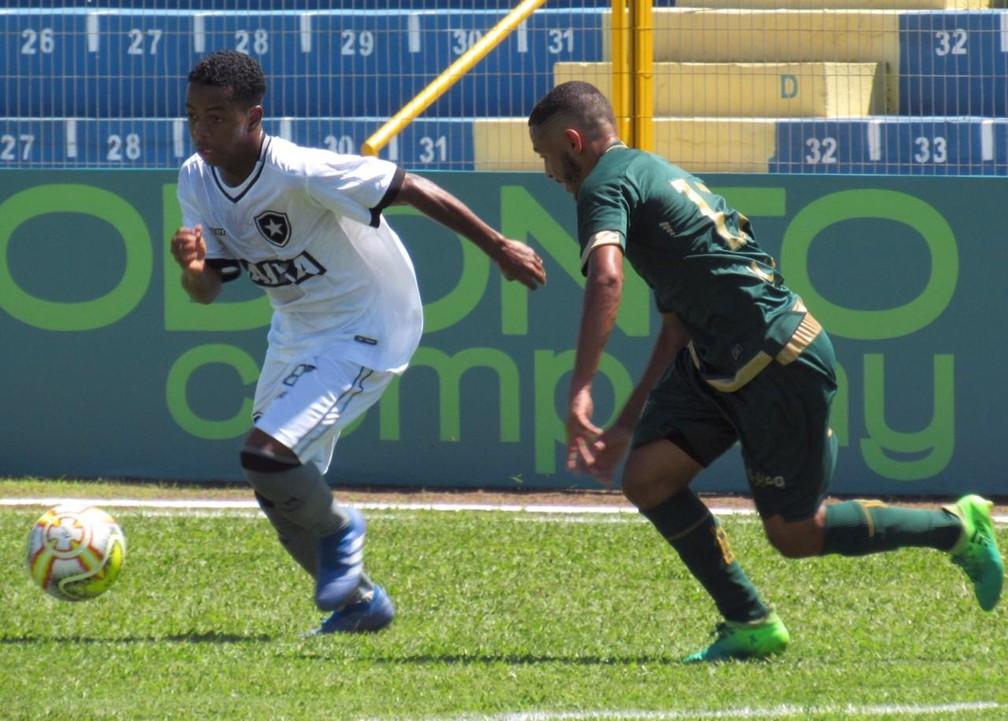 Ênio (à esquerda) vai defender o Botafogo na Copa São Paulo — Foto: Fábio de Paula/Botafogo