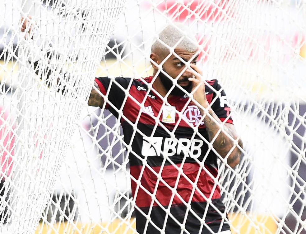 100 Pontaria prejudica o Flamengo, que nos últimos três jogos finalizou 51 vezes e fez só um gol