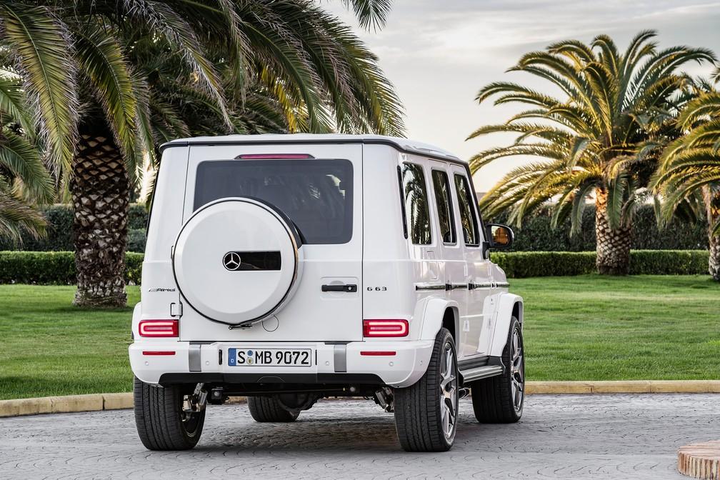 Mercedes-Benz G 63 — Foto: Divulgação