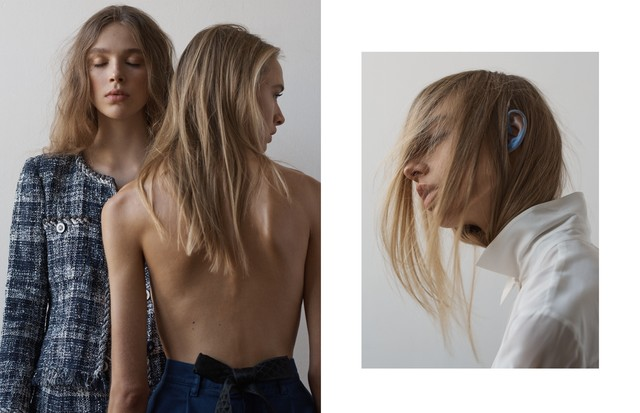 """Banco de Talentos: """"French Minimalism"""" (Foto: Mary Fix, com styling de Jess Mederos, cabelo por Alina Freisen e beleza por Rie Tsunki)"""