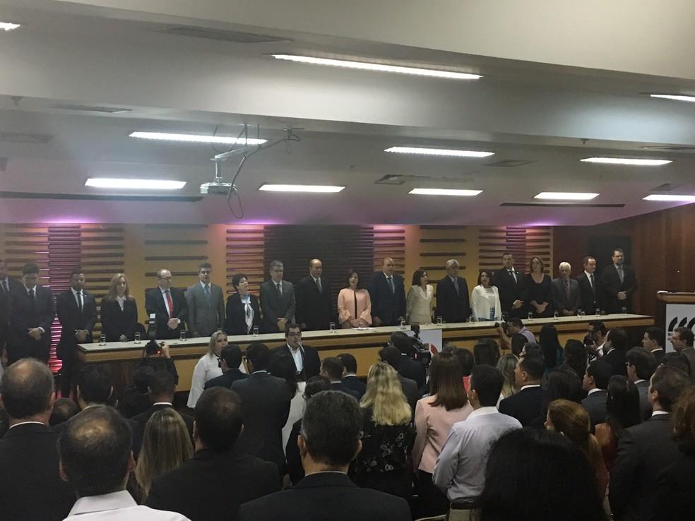 MP aponta que 11 facções atuam em cadeias de Goiás e apresenta ações para melhoria do sistema prisional  (Foto: Sílvio Túlio/G1)