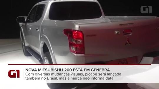 Mitsubishi anuncia nova L200 Triton no Brasil a partir de R$ 131.990