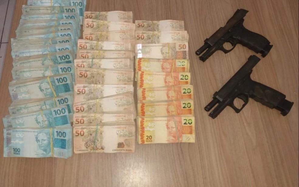 Suspeitos de explosões em agências bancárias de Correntina são mortos em confronto com a polícia — Foto: Divulgação / SSP-BA