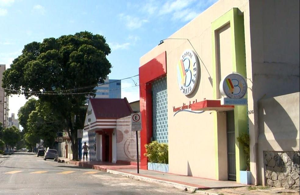 Creche particular em Vila Velha onde crianças passaram mal — Foto: Reprodução/TV Gazeta