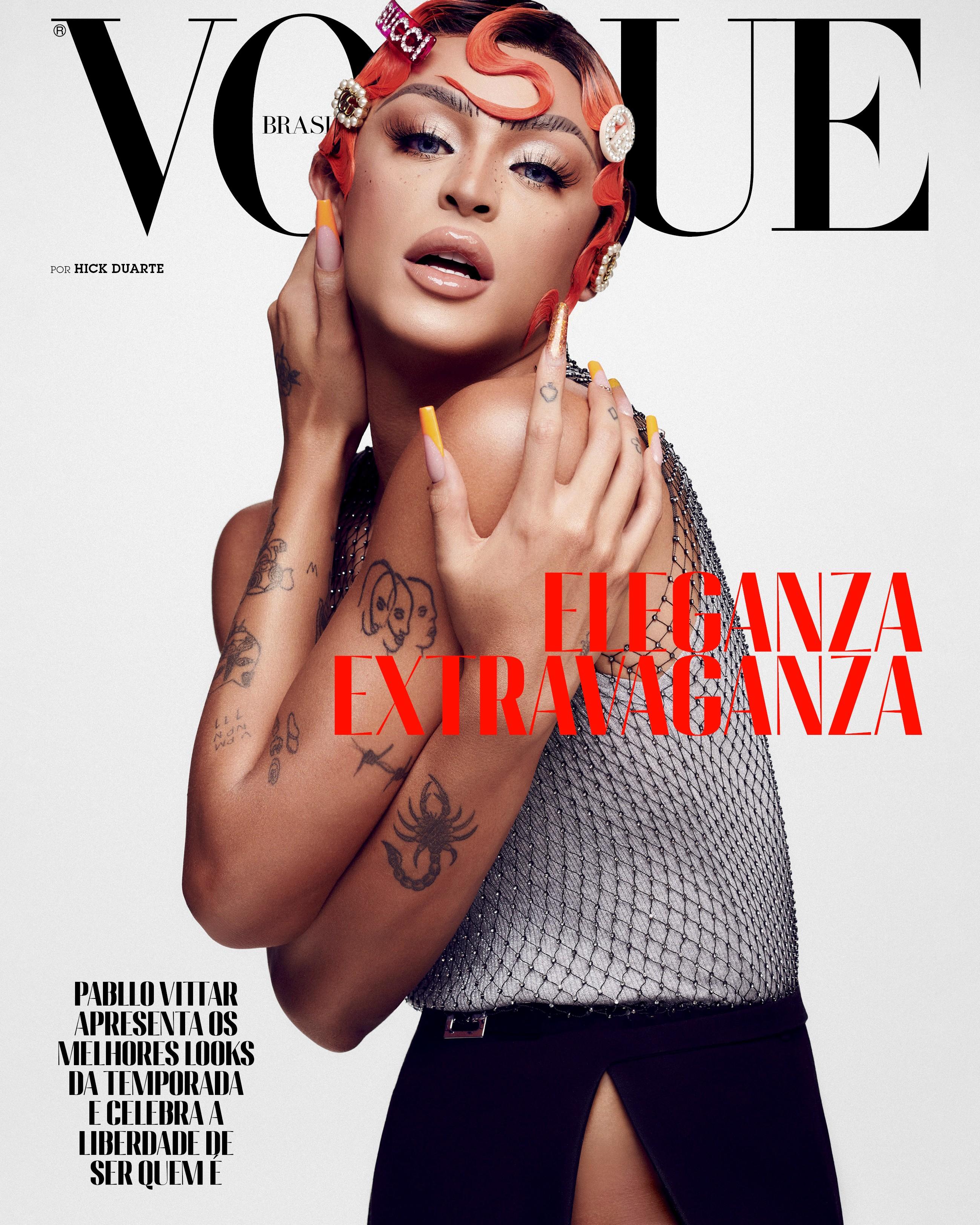 Pabllo Vittar para Vogue de outubro 2020 (Foto: Vogue Brasil/ Hick Duarte)