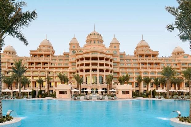 Novo resort em Dubai tem 6 mil lustres com cristais Swarovski  (Foto: Reprodução/ Instagram)