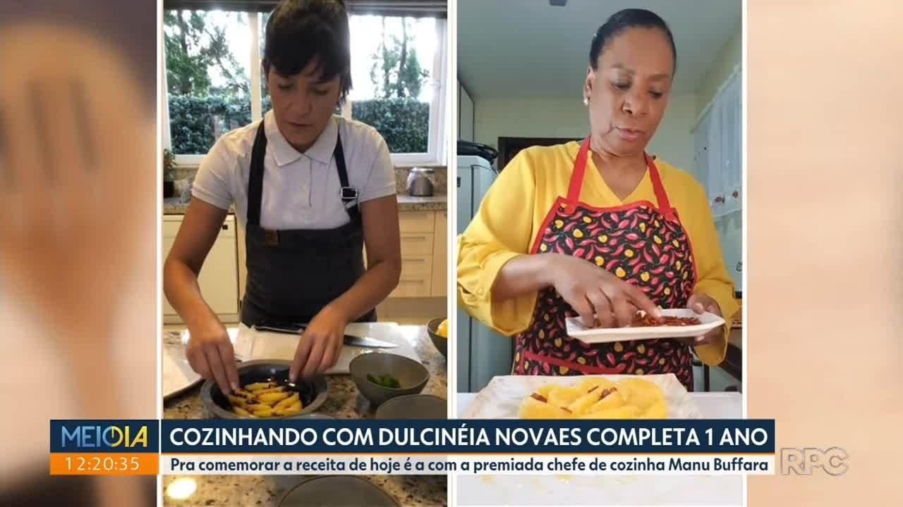 Cozinhando com Dulcinéia Novaes completa 1 ano