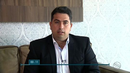Milton Andrade, candidato ao governo de SE, é entrevistado no SETV1ª Edição