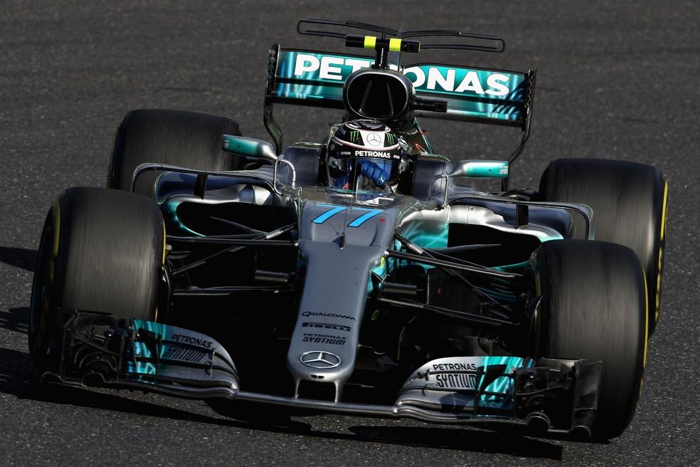 Sem punição, finlandês da Mercedes poderia ter sido o terceiro (Foto: Getty Images)