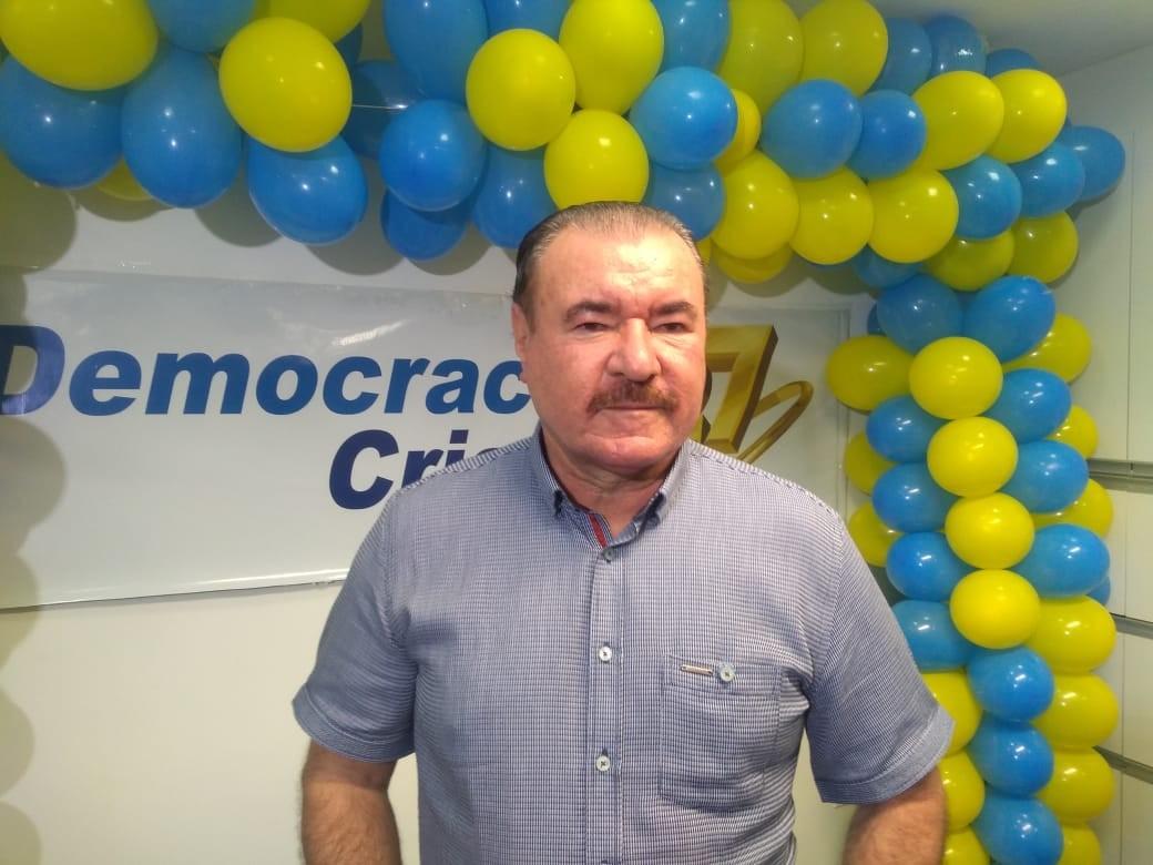 Democracia Cristã oficializa candidatura de Cícero Almeida à Prefeitura de Maceió
