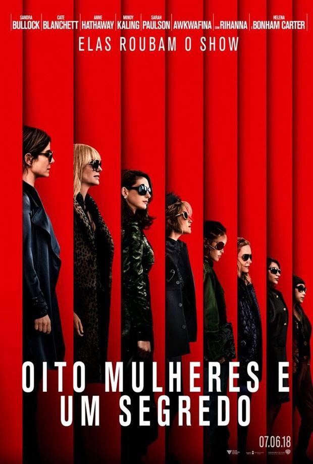 Oito Mulheres e um Segredo: novo trailer do filme que estreia em junho (Foto: Divulgação)