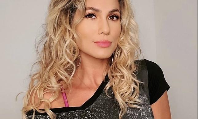 A apresentadora Lívia Andrade