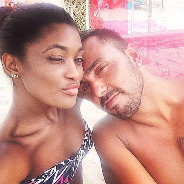 Erika Januza e Eduardo Alves (Foto: Reprodução/Instagram)