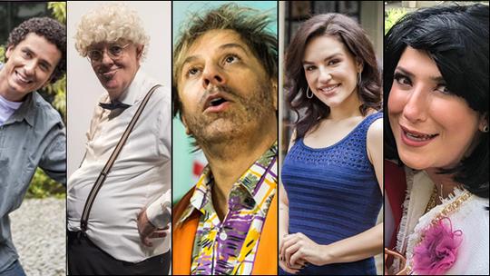 'Tá no Ar': último episódio da temporada faz homenagem ao humor com mais de 20 convidados!