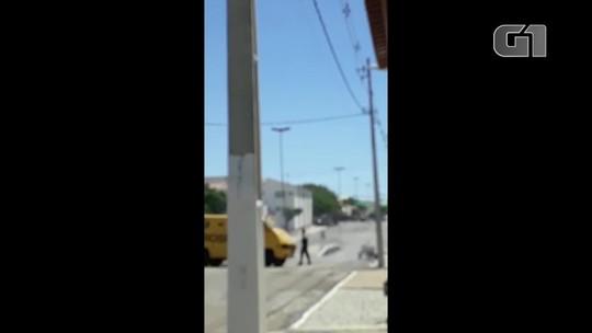 Criminosos e vigilantes trocam tiros em tentativa de assalto a carros-fortes no RN