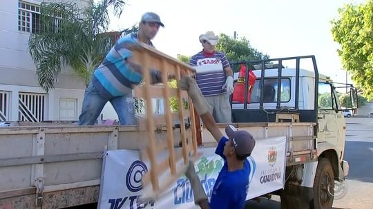 Cidade Limpa recolhe mais de 25 toneladas de lixo em um dia em Catanduva