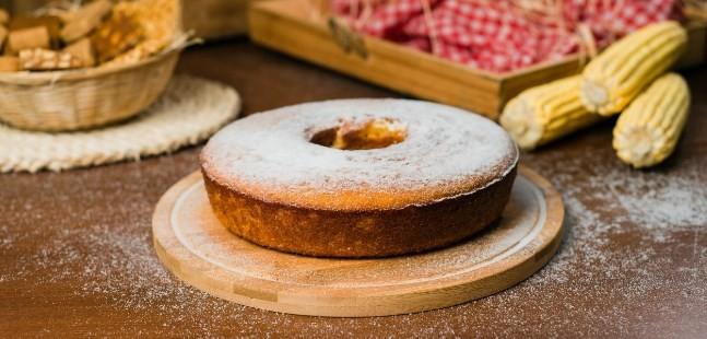 O bolo de milho da Vó Alzira
