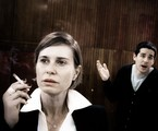 "Paula Burlamaqui e Pedro Neschling ensaiam ""A estufa"", de Harold Pinter | Arthur Viana"