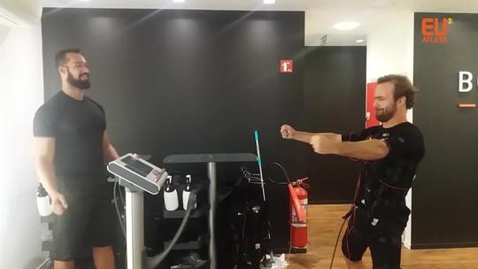 Músculos fortes em 20 minutos? Conheça novo treino adotado por Roger Flores