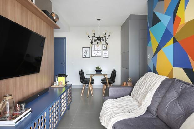 Ap ganha ar moderno e boas solu es para aproveitar o espa o casa e jardim decora o - Minibar da casa ...